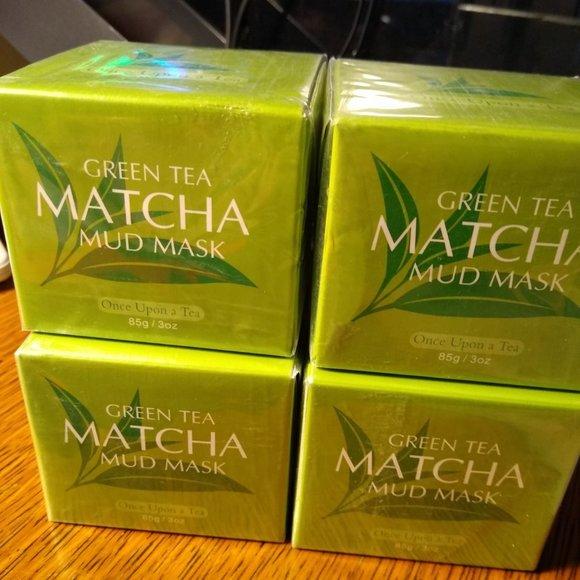 Green Tea Matcha Mask-New- Once Upon a Tea